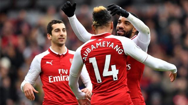 Arsenal Bantai Stoke City Dengan Skor 3-0