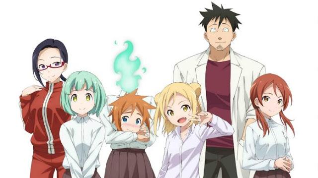 Demi-chan wa Kataritai - Daftar Anime Fantasy School Terbaik