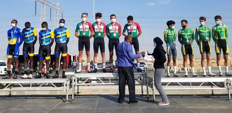البطولة الإفريقية لدراجات على الطريق: فضية و برونزية للجزائر في اليوم الأول