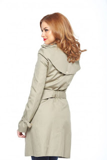 Trench PrettyGirl Modern Cream
