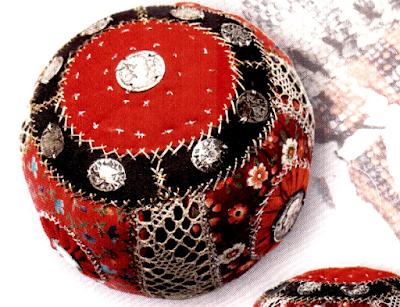 лоскутный мяч