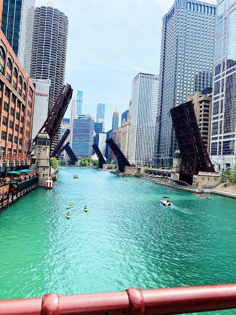 Chicago River Bridges Up || Tori's Pretty Things