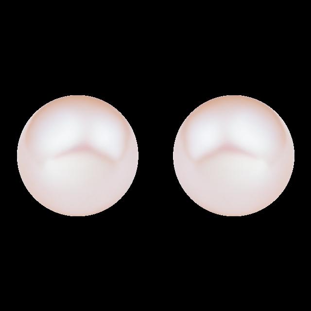 Bông tai bạc đính ngọc trai 4 ly PNJSilver