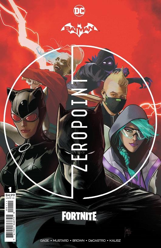 Cover of Batman / Fortnite: Zero Point #1