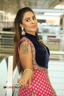 Telugu Actress Sri Reddy Mallidi Stills in White Beautiful Dress at Marriage Needs Bridal Fashion Week 2017 Logo Launch  0112.JPG