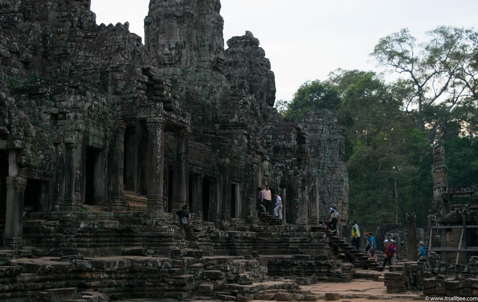 Cambodia | Exploring Siem Reap's Bayon Temple