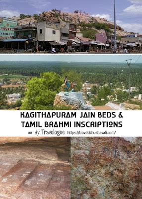 Tamil Brahmi Inscriptions & Jain Rockbeds