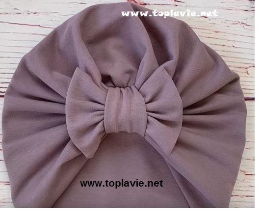 كيفية خياطة بوني رأس - Turban Tutorial