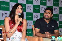 Bollywood Actress Adah Sharma Pos in White Printed Short Dress at OPPO F3 Plus Selfie Expert Mobile Launch .COM 0093.jpg