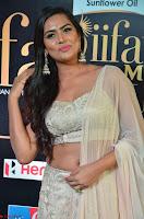 Prajna Actress in backless Cream Choli and transparent saree at IIFA Utsavam Awards 2017 0005.JPG