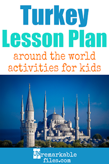 Building the perfect Turkey lesson plan for your students? Are you doing an around-the-world unit in your K-12 social studies classroom? Try these free and fun Turkish activities, crafts, books, and free printables for teachers and educators! #turkey #lessonplan #aroundtheworld