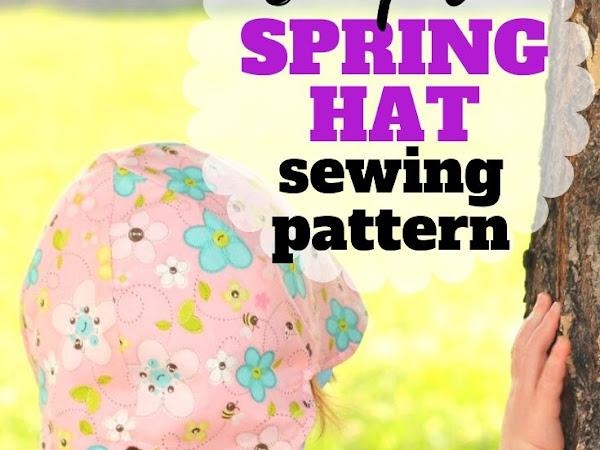 Reversible Petal Hat Tutorial