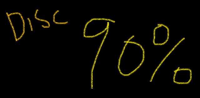 Diskon 90 Persen
