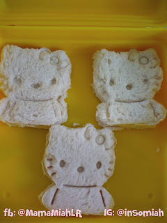 Hello Kitty Bento Sandwich