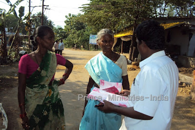 Praying 4 U   : Spreading the Word of God in India