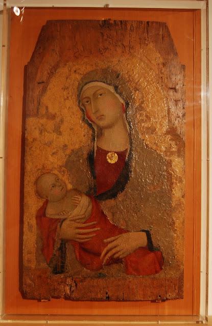 Vierge et enfant, Simone Martini (XIVème siècle)