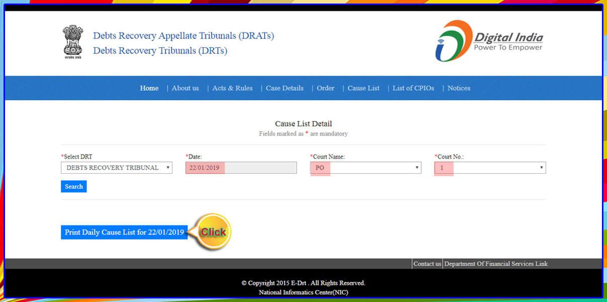 Debit recovery Tribunal-2 Hyderabad-I.A.No.1089/2019-8