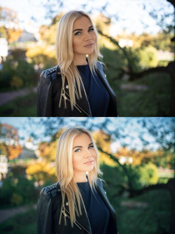 Обработка осенних фотографий в Фотошопе