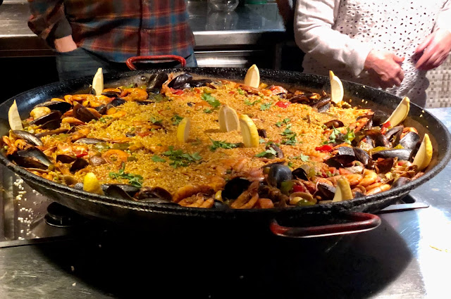 The Travel Bar Paella Experience in Barcelona Spain is an Evening of Tapas, Sangria, Food and New Friends