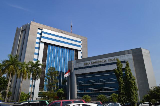 Gedung Kantor Pusat Badan Kepegawaian Negara