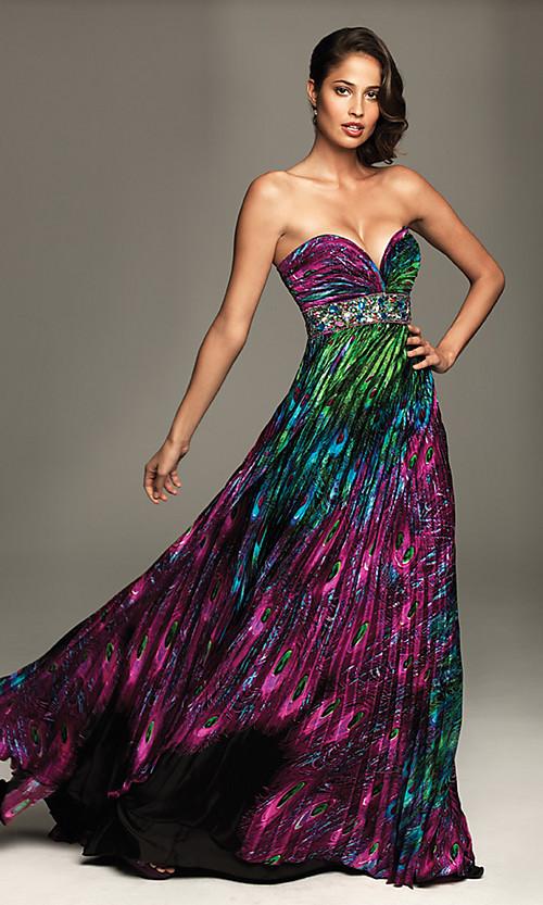 Peacock Feather Wedding Dresses Designs - Wedding Dress