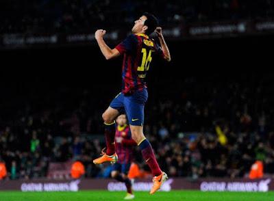 Campeón de Barcelona de la Liga