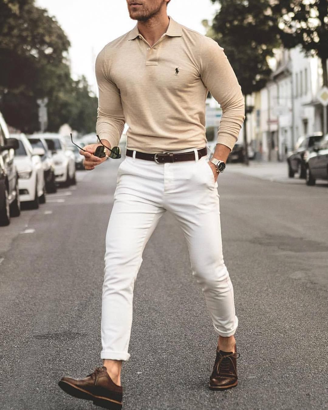 white pants wear
