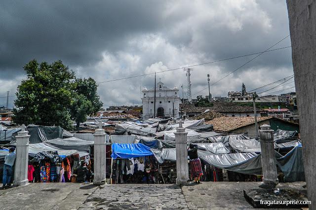 Capela do Calvário e Mercado de Chichicastenango, Guatemala