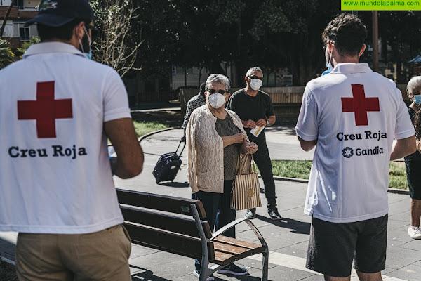 Cruz Roja lanzó en marzo del año pasado la mayor movilización de recursos, capacidades y personas de su historia, el Plan Cruz Roja RESPONDE frente a la COVID-19