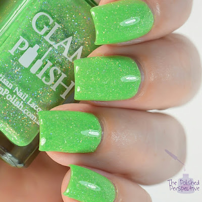 glam polish slay the dragon swatch