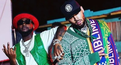 Davido joined Chris Brown on stage for his IndiGOAT tour on Saturday, 9