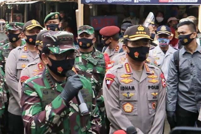 Panglima TNI dan Kapolri Termasuk 10 Jenderal Gelar Rapat Tertutup