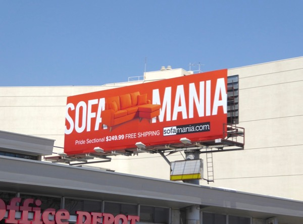 Orange Sofa Mania billboard