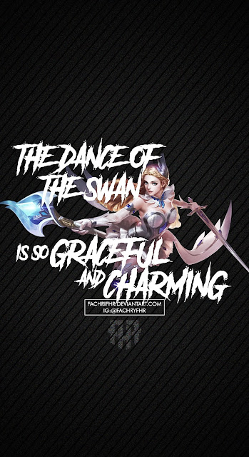 Odette Swan Princess by FachriFHR - Quotes Wallpaper Mobile Legends