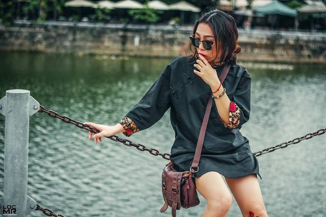 Phong cách thời trang nữ Trung Quốc trong thành phố
