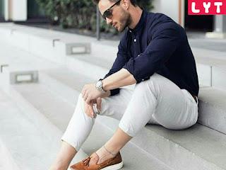 Thay đổi phong cách phối đồ với áo sơ mi và quần tây nam