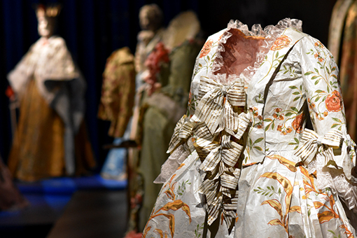 Fashioning Art from Paper | SCAD FASH | Photo: Travis Swann Taylor