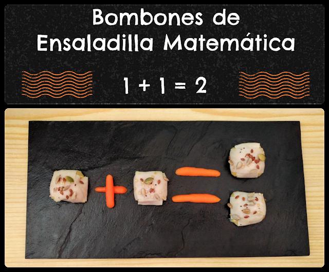 Bombones de ensaladilla matemática Asevec MiVerduraCongelada