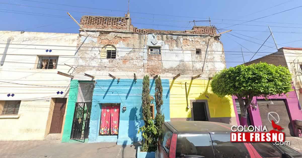 fotografía de la vecindad más antigua de la colonia del fresno