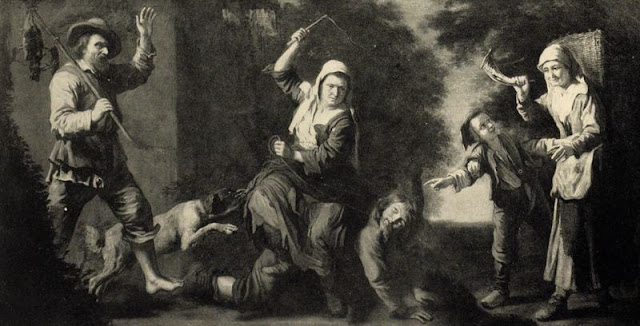 La femme au fouet, de Mathieu le Nain