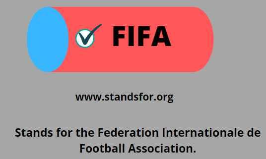 FIFA-Federation Internationale de Football Association