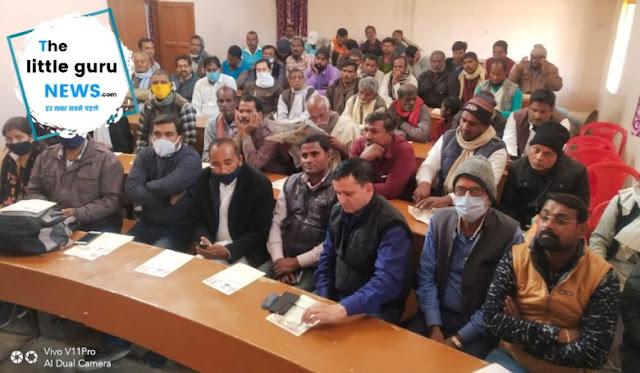 किसान सम्मान निधि हस्तांतरण योजना का हुआ जीवंत प्रसारण