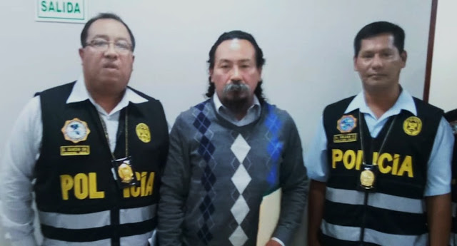 Jonás Ataucusi, líder del Frepap, reapareció ante la policía