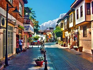 antalya'da gezilecek yerler kaleiçi