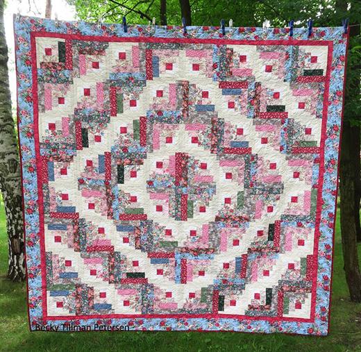 Rachael's Garden Quilt Free Pattern