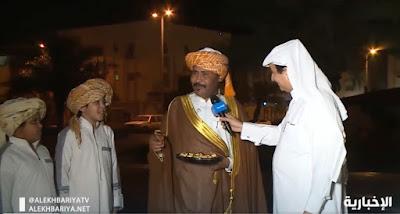 لقطة من تقرير الإخبارية من مكة المكرمة
