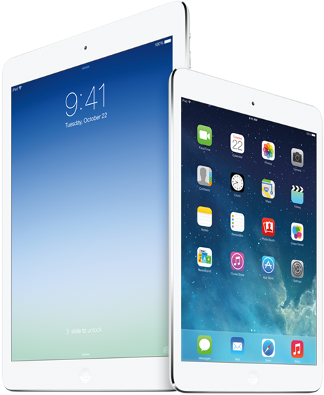 iPad-Air vs iPad-mini-2