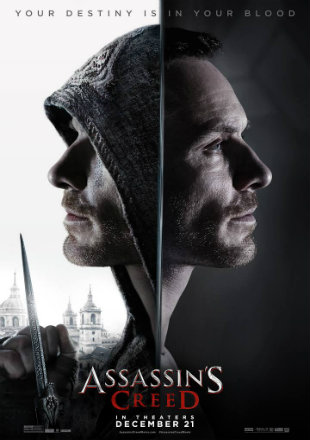 Assassins Creed 2016 BRRip Dual Audio Download 350Mb ORG 480p Watch Online Free bolly4u