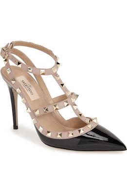 zapatos de charol con vestido