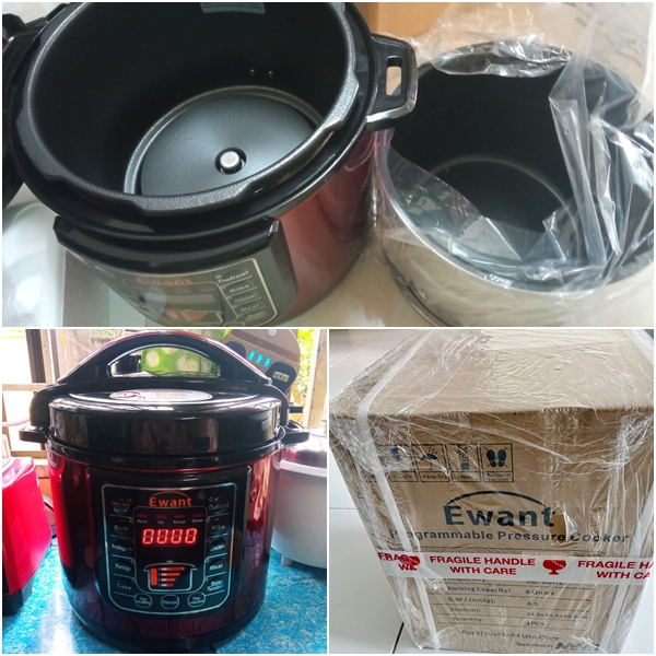 MMX Pressure Cooker Rice Cooker Stainless Steel Pot